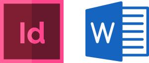 Adobe inDesign - Microsoft Word